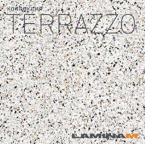 Новинка Laminamrus - Terrazzo 1000х3000х5,6 мм